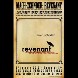 Mach Zehnder - Show Poster