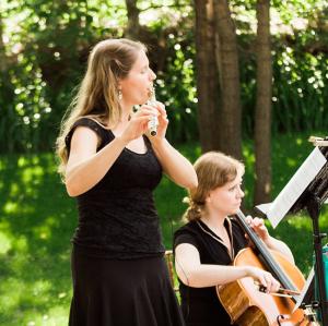 Christen Stephens - Flute & Cello