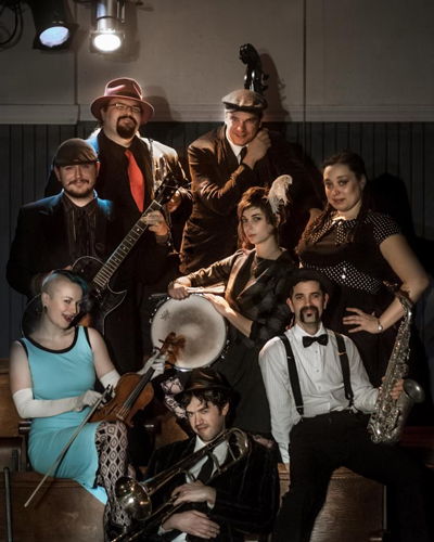 Hot Club Of Somerville - Speakeasy Circus