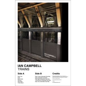 Ian Campbell - Trains (Poster)