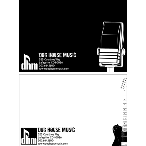 Dog House Music - Post Cards
