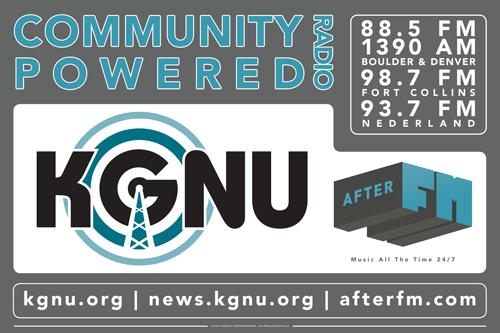KGNU - Event Banner
